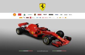 Ferrari SF71H right side front view