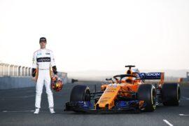 McLaren MCL33 launch 2018 Stoffel Vandoorne