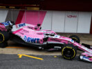 The Sahara Force India F1 VJM11 is revealed. Formula One Testing, Day 1, Monday 26th February 2018. Barcelona, Spain.