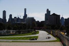 Haas, Red Bull & Renault on track Albert Park, Melbourne, Australia 2018.
