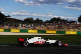 Romain Grosjean Haas VF-18 Albert Park, Melbourne, Australia 2018.