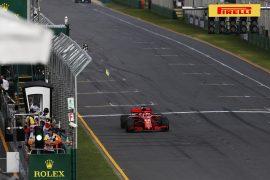 Sebastian Vettel Ferrari winner Australian GP F1/2018