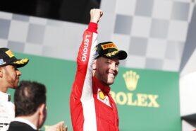 Sebastian Vettel winner of the Australian GP F1/2018