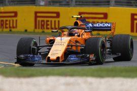 Stoffel Vandoorne McLaren Australian GP F1/2018