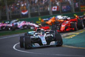 Lewis Hamilton, Sebastian Vettel & other drivers on track at Australian GP F1/2018