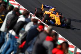 Circuit de Catalunya, Barcelona, Spain. Wednesday 07 March 2018. Fernando Alonso, McLaren MCL33 Renault.