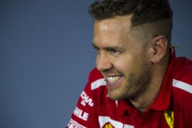 Sebastian Vettel Ferrari Australian GP F1/2018