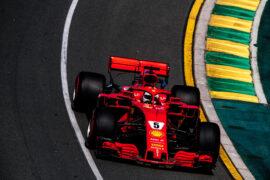 Sebastian Vettel Ferrari SF71H Australian GP F1/2018