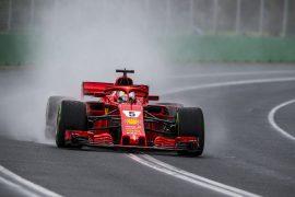 Sebastian Vettel Australian GP F1/2018