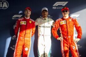 Qualifying results 2018 Australian F1 Grand Prix