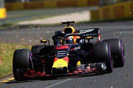 Daniel Ricciardo Red Bull Australian GP F1/2018