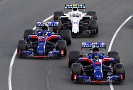 Toro Rosso on track Australian GP F1/2018
