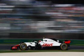 Kevin Magnussen Haas on track Australian GP F1/2018