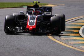 Kevin Magnusssen on track Australian GP F1/2018
