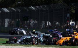 Formula One - Mercedes-AMG Petronas Motorsport, Australian GP 2018. Valtteri Bottas