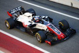 Romain Grosjean, Haas VF-18, Circuit de Catalunya, Barcelona, Spain (2018)