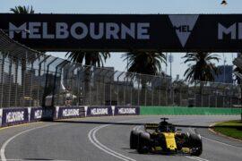 Nico Hulkenberg (GER) Renault Sport F1 Team RS18. Australian Grand Prix 2018. Albert Park, Melbourne, Australia.