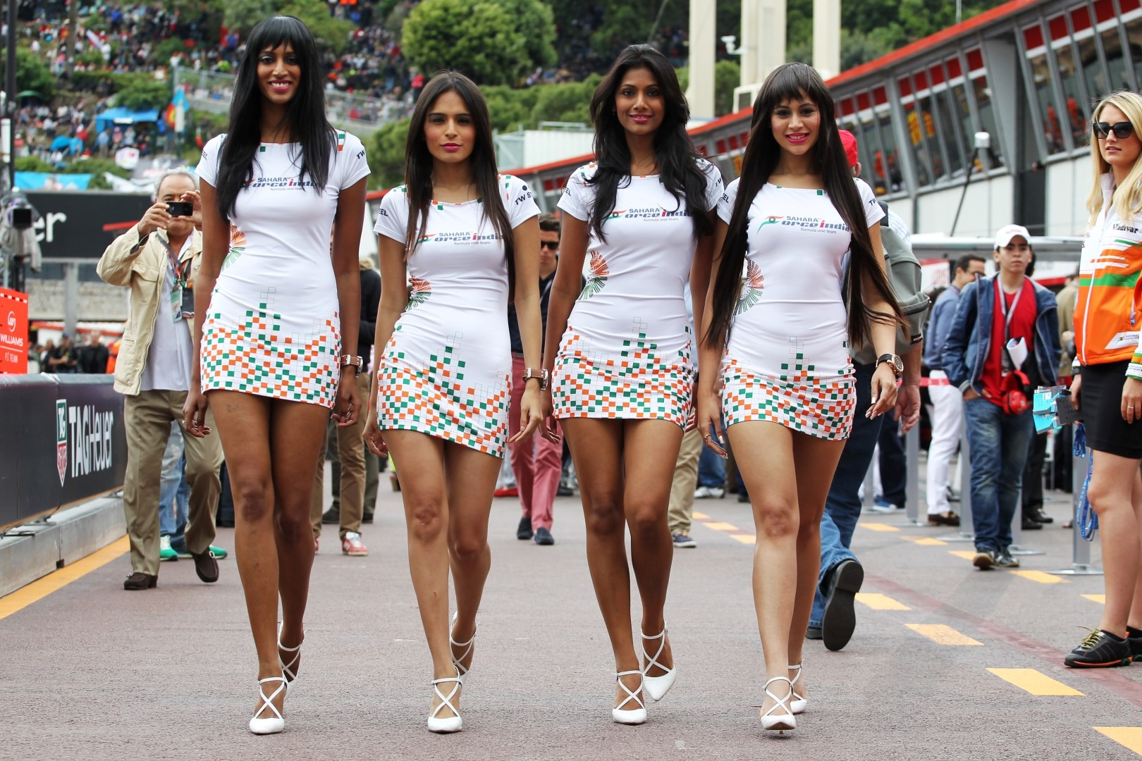 F1 Grid Girls Speak Out Against PC Gone Mad | Total Pro