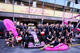 Sahara Force India F1 Team - Havaianas. Australian Grand Prix, Friday 23rd March 2018. Albert Park, Melbourne, Australia.