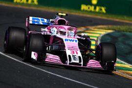 Esteban Ocon (FRA) Sahara Force India F1 VJM11. Australian Grand Prix 2018. Albert Park, Melbourne, Australia.