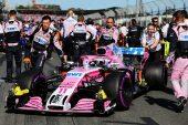 Sergio Perez, Force India VJM11 on the grid 2018 Australian Grand Prix,. Albert Park, Melbourne