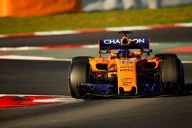 Fernando Alonso McLaren Circuit de Catalunya, Barcelona, Spain. Friday 09 March 2018.