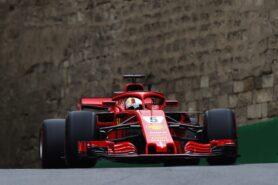 Sebastian Vettel Ferrari Azerbaijan GP F1/2018