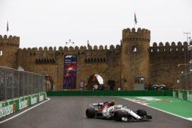 Charles Leclerc Sauber Azerbaijan GP F1/2018