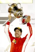 Winner Bahrain GP F1/2018 Sebastian Vettel Ferrari.