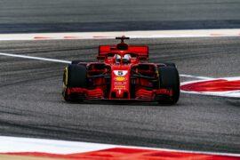 Sebastian Vettel Ferrari Bahrain GP F1/2018