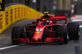 Kimi Raikkonen Ferrari SF71H 2018 Azerbaijan