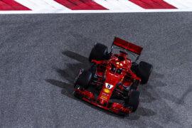 Sebastian Vettel Ferrari SF71H Bahrain GP F1/2018