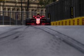 Kimi Raikkonen Ferrari Azerbaijan GP F1/2018