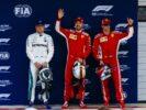 Valtteri Bottas, Sebastian Vettel & Kimi Raikkonen Chinese GP F1/2018