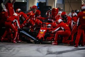 Sebastian Vettel Ferrari Bahrain GP F1/2018.