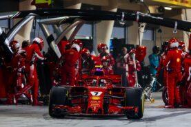 Ferrari mechanic back in F1 after leg break
