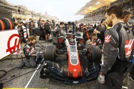 Kevin Magnussen Haas Bahrain GP F1/2018