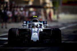 Bahrain International Circuit, Sakhir, Bahrain. Saturday 7 April 2018. Sergey Sirotkin, Williams FW41 Mercedes.