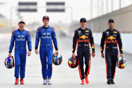 Toro Rosso & Red Bull Bahrain GP F1/2018