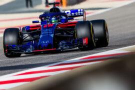 Brendon Hartley Toro Rosso Bahrain GP F1/2018