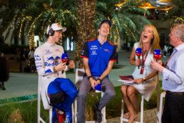 Pierre Gasly & Brendon Hartley Bahrain GP F1/2018