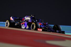 Brendon Hartley Toro Rosso on track Bahrain GP F1/2018