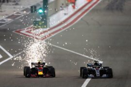Max Verstappen & Lewis Hamilton Bahrain GP F1/2018