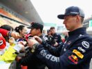 Max Verstappen with fans Chinese GP F1/2018