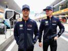 Daniel Ricciardo & Max Verstappen Chinese GP F1/2018