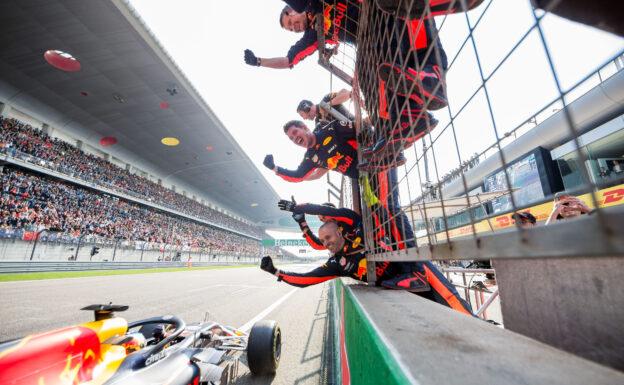 Daniel Ricciardo Winner Chinese GP F1/2018