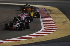 Kevin Magnussen Haas on track Bahrain GP F1/2018