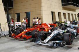 Formula One - Mercedes-AMG Petronas Motorsport, Bahrain GP 2018. Valtteri Bottas