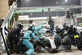 Formula One - Mercedes-AMG Petronas Motorsport, Bahrain GP 2018. Lewis Hamilton