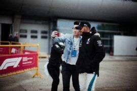 Formula One - Mercedes-AMG Petronas Motorsport, Chinese GP 2018. Lewis Hamilton